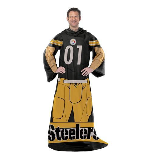The Northwest Company Pittsburgh Steelers Uniform Comfy Throw
