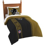 The Northwest Company Jacksonville Jaguars Twin Comforter and Sham Set