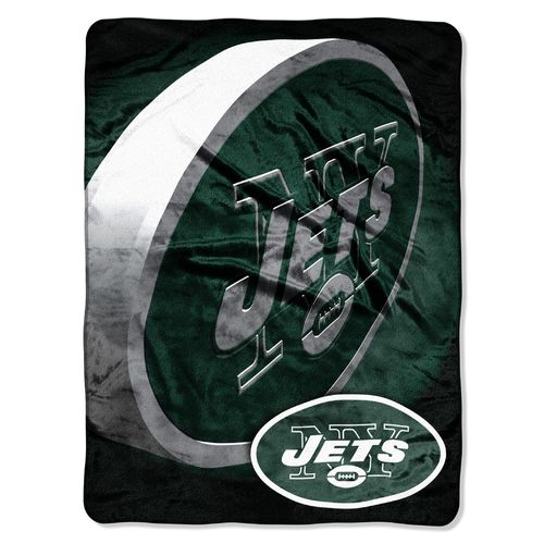 The Northwest Company New York Jets Bevel Micro Raschel Throw
