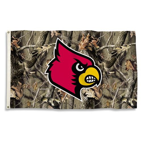 BSI University of Louisville Camo Flag