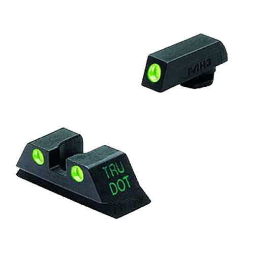 Meprolight Tru-Dot GLOCK 9/40 Fixed Front and Rear Night Sights