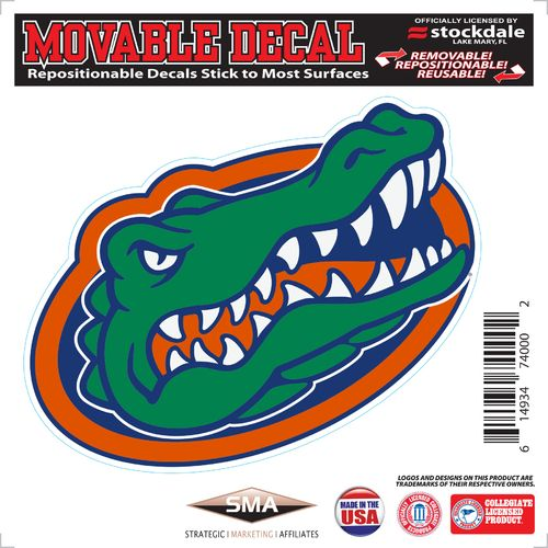 Stockdale University of Florida 6' x 6' Decal