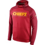 Nike Men's Kansas City Chiefs Champ Drive Gold Collection Hyperspeed PO Fleece Hoodie