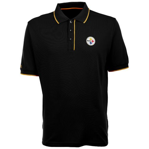 Antigua Men's Pittsburgh Steelers Elite Polo Shirt