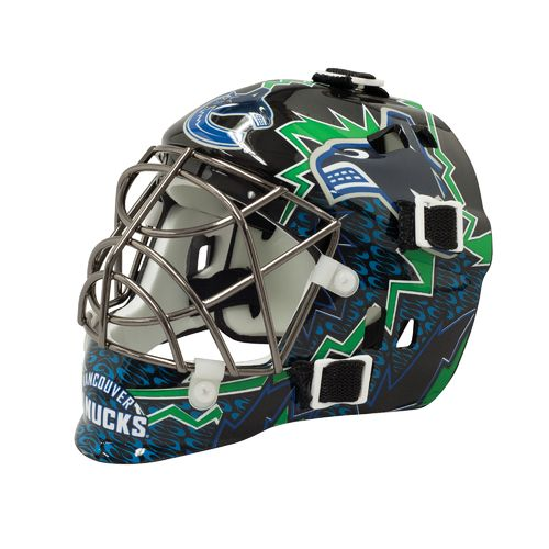 Franklin NHL Team Series Vancouver Canucks Mini Goalie Mask
