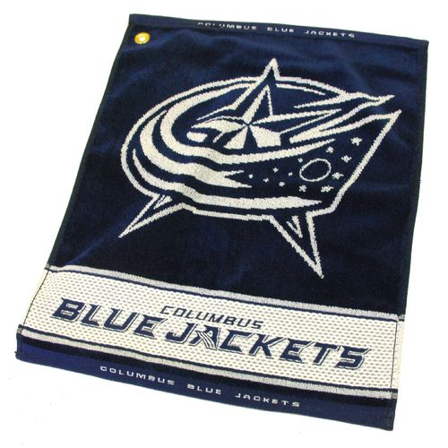 Team Golf Columbus Blue Jackets Woven Towel - view number 1