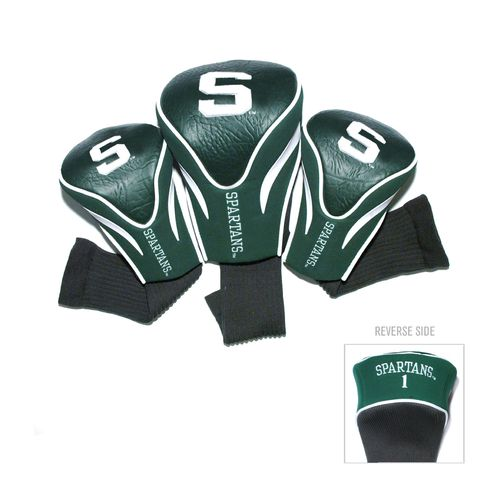 Team Golf Michigan State University Contour Sock Head Covers 3-Pack - view number 1