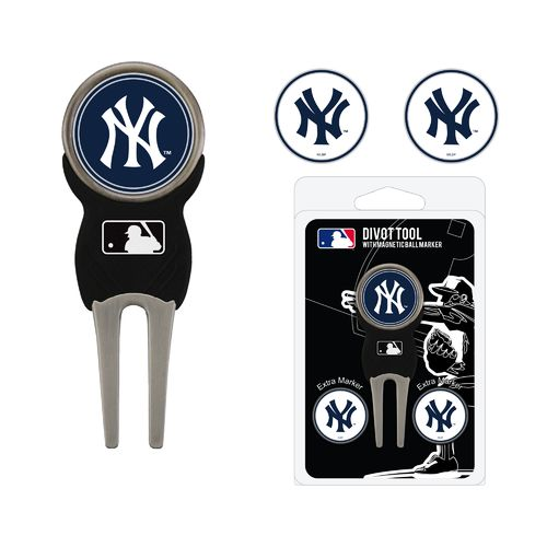 Team Golf New York Yankees Divot Tool and Ball Marker Set