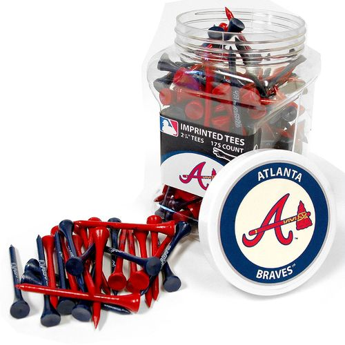 Team Golf Atlanta Braves Tees 175-Pack