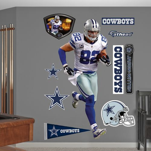 Fathead Dallas Cowboys Jason Witten Away Real Big Wall Decal