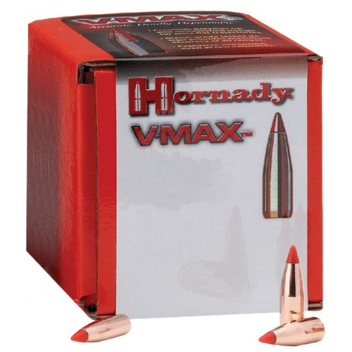Hornady V-MAX with Cannelure .22 55-Grain Rifle Bullets