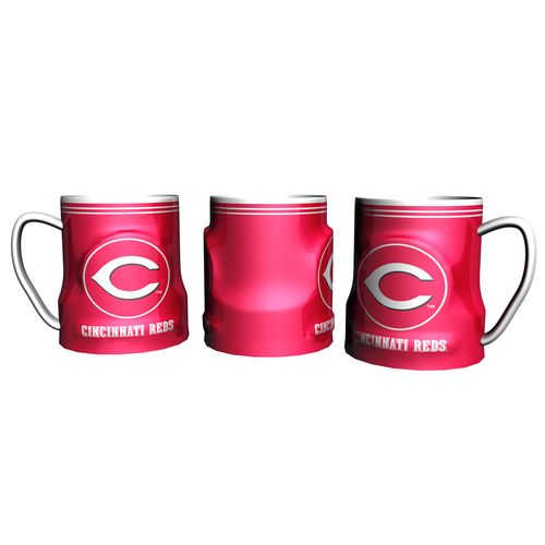 Boelter Brands Cincinnati Reds Gametime 18 oz. Mugs 2-Pack