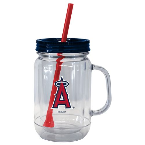 Boelter Brands Los Angeles Angels of Anaheim 20 oz. Handled Straw Tumblers 2-Pack