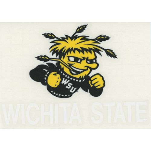 "Stockdale Wichita State University 4"" x 7"" Decals 2-Pack"