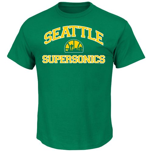 Majestic Men's Seattle Supersonics Hardwood Classics Heart and Soul T-shirt