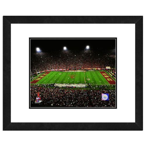 "Photo File University of Southern California Stadium 16"" x 20"" Matted and Framed Photo"