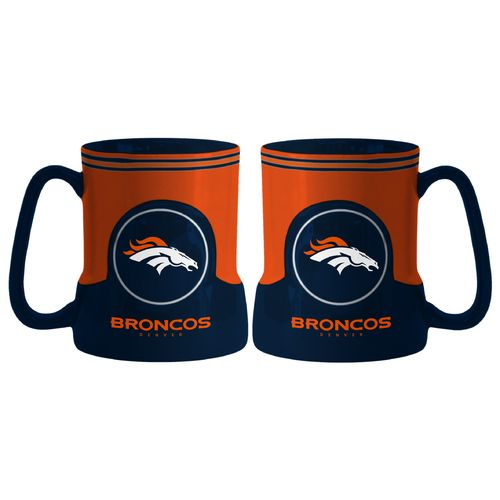 Boelter Brands Denver Broncos Gametime 18 oz. Mugs 2-Pack