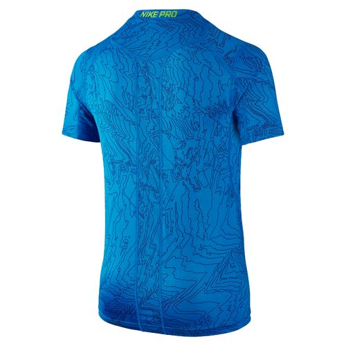 Nike Boys' Pro Cool Fitted Short Sleeve T-shirt - view number 2