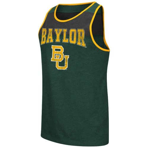 Colosseum Athletics Men's Baylor University Backcut Tank Top