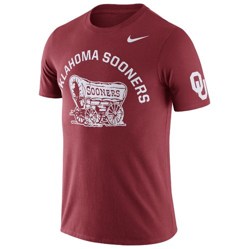 Nike Men's University of Oklahoma ENZ Campus Short Sleeve T-shirt