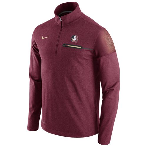 Nike™ Men's Florida State University Coaches 1/2 Zip Jacket
