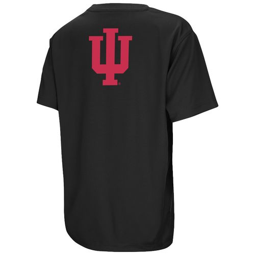 Colosseum Athletics™ Boys' Indiana University Pixel Short Sleeve T-shirt - view number 2