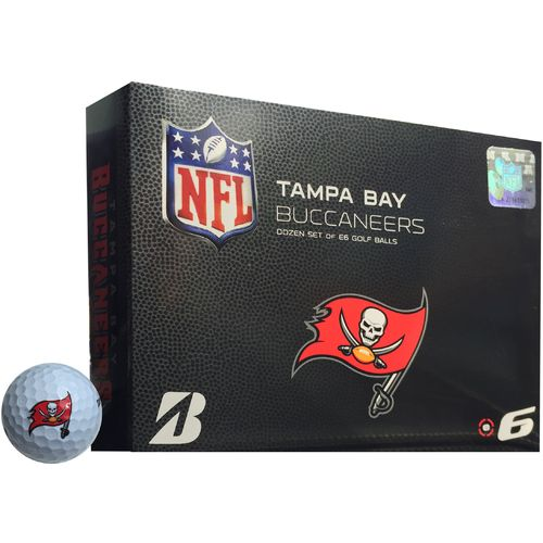 Bridgestone Golf Tampa Bay Buccaneers e6 Golf Balls 12-Pack