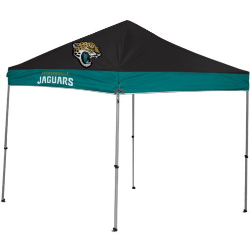 Jarden Sports Licensing Jacksonville Jaguars 9u0027 x 9u0027 Straight-Leg Canopy  sc 1 st  Academy Sports + Outdoors & NFL Canopies | Academy