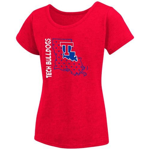 Colosseum Athletics Girls' Louisiana Tech University T-shirt