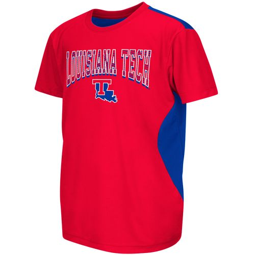 Colosseum Athletics™ Boys' Louisiana Tech University Short Sleeve