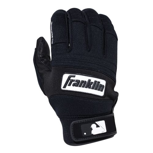 Franklin Adults' All-Weather Pro Baseball Batting Gloves