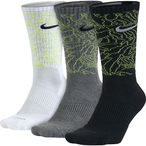 Nike Adults' Dri-FIT Topo Camo Crew Training Socks
