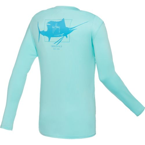 Guy Harvey Men's Pro UVX Performance Sailfish Logo T-shirt