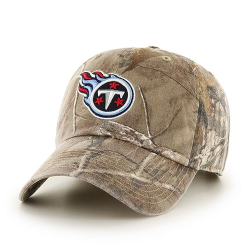 '47 Tennessee Titans Realtree Camo Cleanup Cap