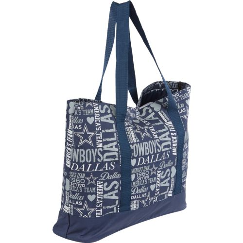 Team Beans Women's Dallas Cowboys Collage Tote Bag