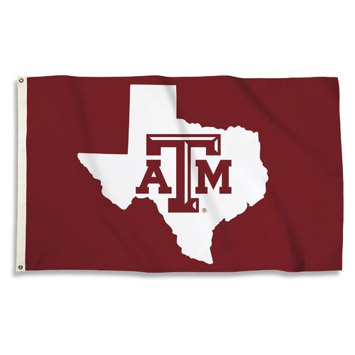 BSI Texas A&M University 3'H x 5'W State Logo Flag - view number 1