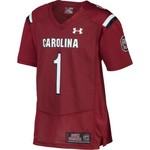Under Armour™ Men's University of South Carolina #1 Replica Home Football Jersey