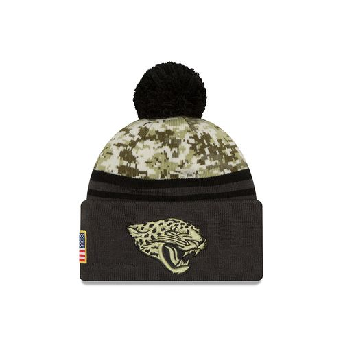 New Era Men's Jacksonville Jaguars Salute to Service Knit Cap
