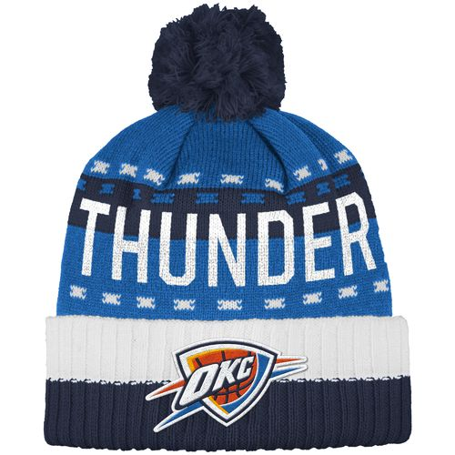 adidas™ Men's Oklahoma City Thunder Cuffed Pom Knit