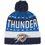 adidas™ Men's Oklahoma City Thunder Cuffed Pom Knit Hat