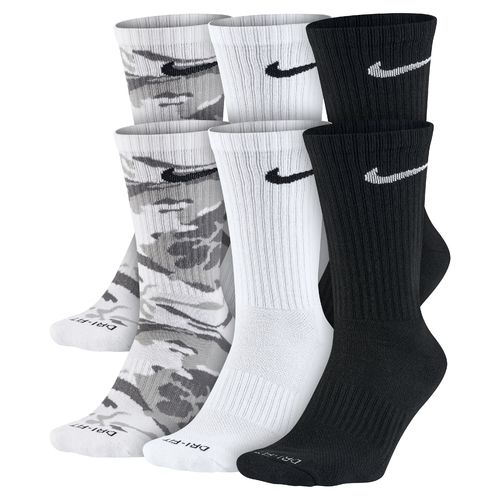 Nike™ Men's Dri-FIT Cushion Crew Socks 6-Pair