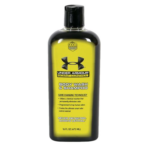Under Armour Scent Control Body Wash and Shampoo