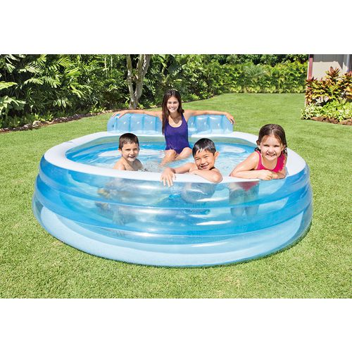 Intex Swim Center Round Family Lounge Pool Academy