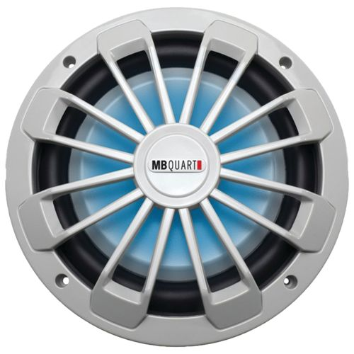 MB Quart Nautic Series Marine-Certified 600W Shallow Subwoofer with LED Illumination - view number 1