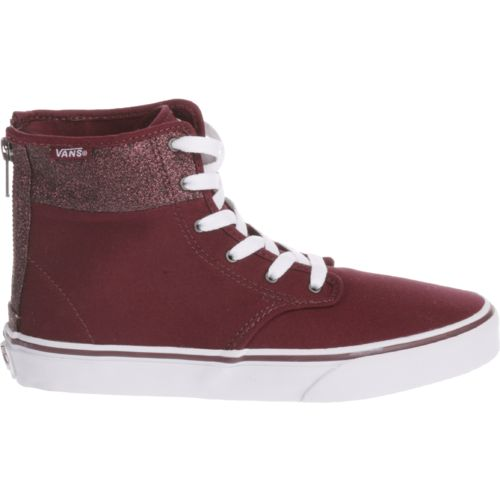 Vans Girls' Camden High-Top Zip Shoes