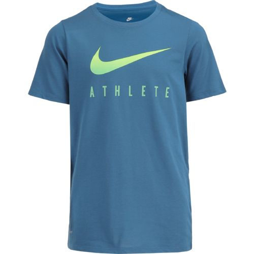 Nike Boys' Swoosh Athletic Heat T-shirt - view number 1