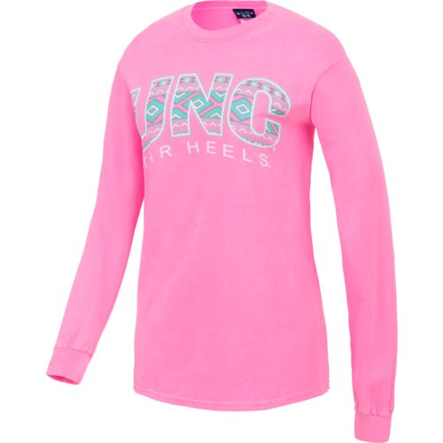 Blue 84 Women's University of North Carolina Gossip Aztec Long Sleeve T-shirt