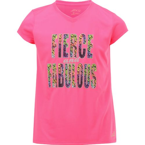 BCG Girls' Turbo Short Sleeve Training Graphic T-shirt