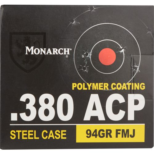 Monarch® .380 ACP 94-Grain Pistol Ammunition