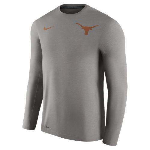 Nike™ Men's University of Texas Dry Top Coaches Long Sleeve T-shirt
